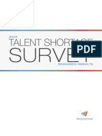 2012 Talent Shortage Survey Results US Final Final