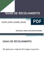 GUIAS DE RECOLHIMENTO