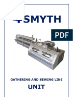 Smyth gathering and sewing line mod. UNIT - Brochure