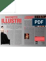 Bacchette illustri sul podio dell'Arturo Toscanini