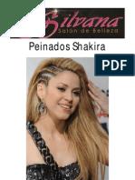 peinados shakira