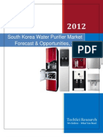 South Korea Water Purifier Market Forecast and Opportunities, 2017