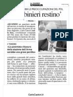 Caserma Carabinieri Fortebraccio - Ponte d'Oddi