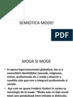 SEMIOTICA MODEI