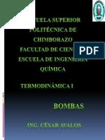 TERMODINAMICA'BOMBAS