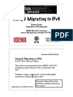 2011 12 IPv6 Tutorial Huque