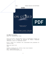 ON GUARD por William Lane Craig  (Traducción y Reseña por Antonio Iván Colín Pichardo)