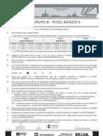 PROVA 2 - GRUPO B - NÍVEL BÁSICO II