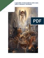 O Guia moderno sobre Anjos Caídos e demônios