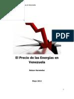 El precio de las energías en Venezuela Mayo 2012