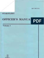 Starfleet I Officers Manual