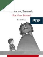 Ahora No Bernardo David McKee