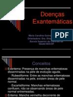 Doenças exantemáticas (1)