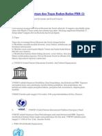 Susunan Keanggotaan PBB Dan Tugas Badan