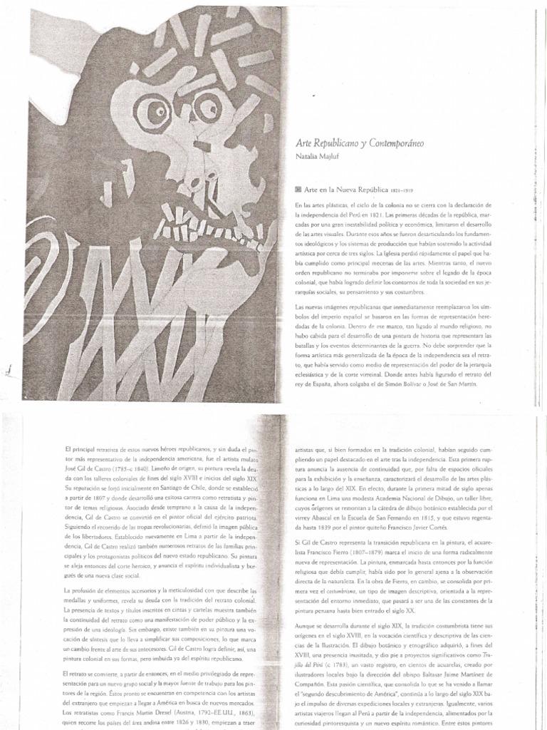 Arte Republic a No y Contemporaneo - Natalia Majluf