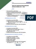 Guia de Programacin ER-350II