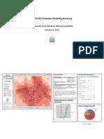 Pollutants Above Summary