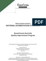 Australia National Accreditation Standard Breast Screen