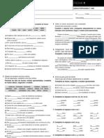 Func.Língua - 9 fichas de exerc. com correcção(blog7 10-11)