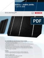 Bosch Solar Cell M 3BB Englisch