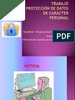 Trabajo Proteccion de Datos