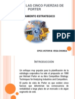 Analisis de Las Cinco Fuerzas de Porter-Victor Vega