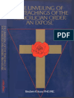 The Unveiling of the Teachings of the Rosicrucian Order An Exposé