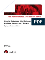 Oracle 11gr2 on Rhel6 to Red Hat 04-11-12