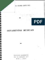 Maria Da Gloria - Ornamentos Musicais