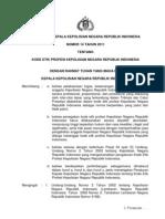 Perkap Nomor 14 Th 2011 Ttg Kode Etik Profesi