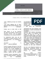 FUERA SENADORES