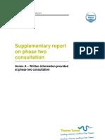 Supp Report on P2 Consultation - Annex a - Written Information_Final