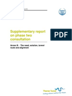Supp Report on P2 Consultation - Annex B - Need, Solution, Route, Alignment_Final