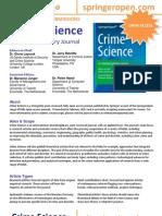 12i NROI 056 Crime Science Flyer