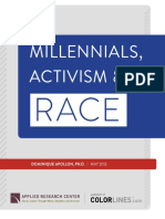 Millennials, Activism and Race Report May 2012