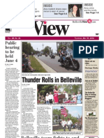 Belleville View front page May 31