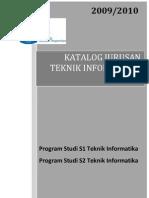Katalog Jurusan Teknik Informatika ITS