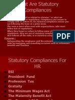 Satutory Compliance