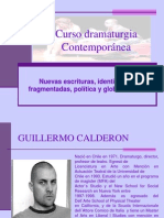 Calderón. Infante.