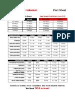 Verizon FiOS Fact Sheet 06-2012