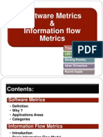 Information Flow Metrics