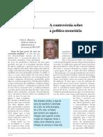 A a Sobre a Politica Monetaria