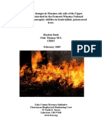 Effect of Catastrophic Fires
