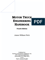 (Cover Only) Motor Truck Engineering Handbook
