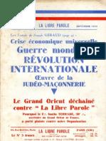 La Libre Parole - 19321013