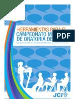 JCI Kit herramientas de Oratoria