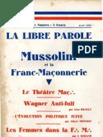 La Libre Parole - 19330404