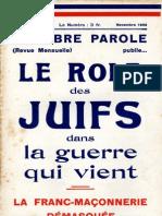La Libre Parole - 19331-1-11
