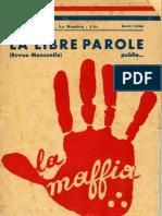 La Libre Parole - 19340404