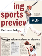 Lamar Ledger Spring Sports 2012